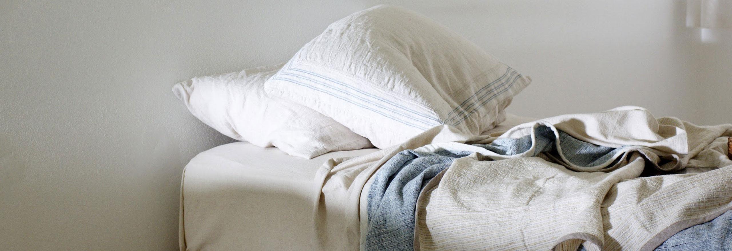 触りここち、着ここち、眠りここちを